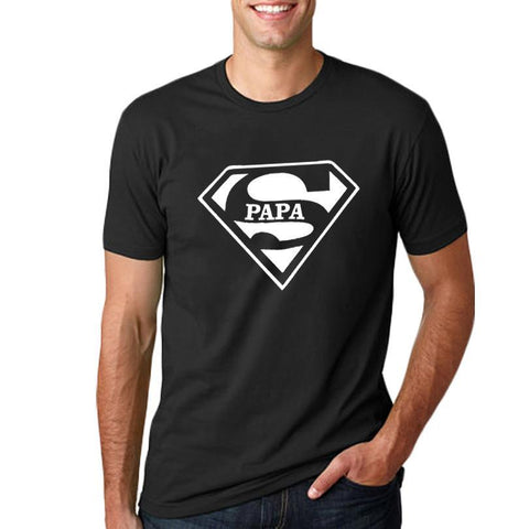 'Super Papa' T-Shirt (US Sizes XS-XL) - PB and Apple Jelly