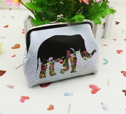Large Elephant Change Purse - PB and Apple Jelly