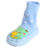 1 Pair Baby Socks with Soft Soles - PB and Apple Jelly