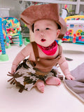 3PC Adorable Baby Cowboy Sheriff Costume