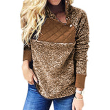 Soft Fuzzy Pullovers with Snaps (US Sizes XS-XXL)