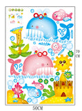 Waterproof Water-Themed Wall Stickers for Kids - PB and Apple Jelly