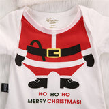 Santa Claus Bodysuit and Hat (Sizes up to 18 months) - PB and Apple Jelly