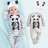 Animal Romper with Hat (up to 24 months and 3T)