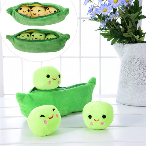Adorable Peas in a Pod Plushes - PB and Apple Jelly