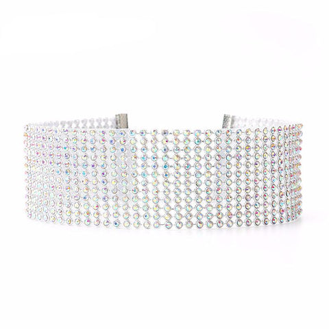 Fabulous Crystal Rhinestone Chokers - PB and Apple Jelly