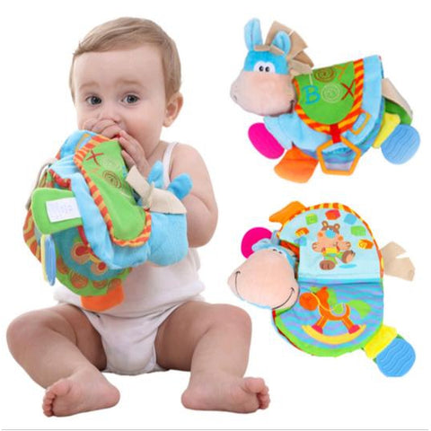 Baby Teether Flip Toy Box Book