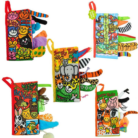 Baby Educational Cloth Books