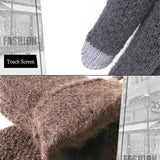 Touch Screen Warm Knitted Gloves - PB and Apple Jelly