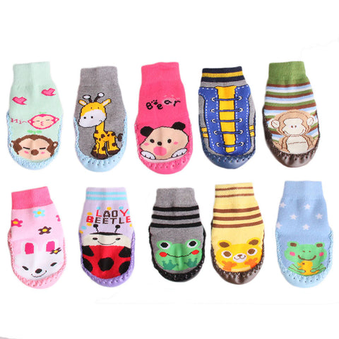 1 Pair Baby Socks with Soft Soles