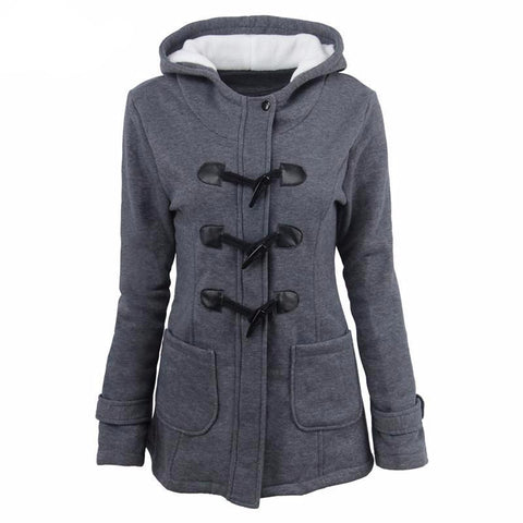 Classy Hooded Jacket (US Sizes 4-26) - PB and Apple Jelly