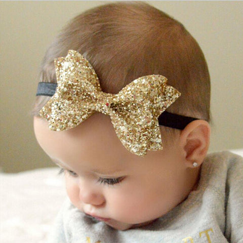 Sparkly Bow Headbands