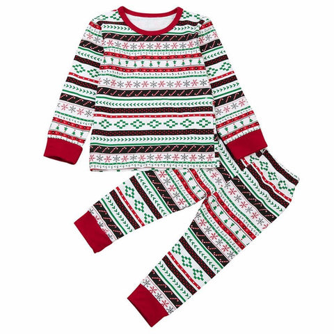 Image of Sibling Christmas Pajamas (Sizes up to 7T) - PB and Apple Jelly