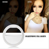 Portable Selfie Ring Flash Lamp - PB and Apple Jelly