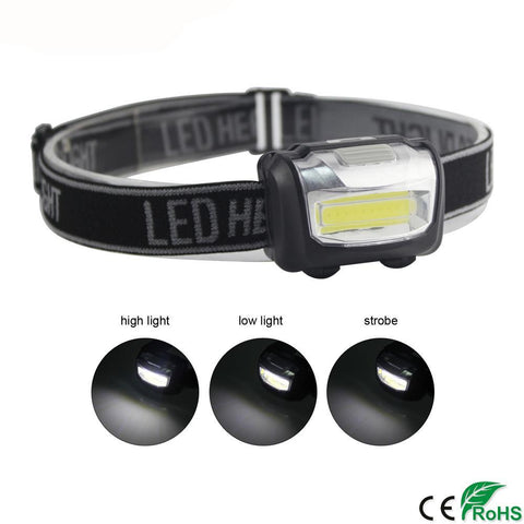 LED Rainproof Head Lamp - PB and Apple Jelly