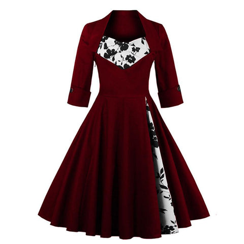 Retro Swing Dresses (Reg. and Plus Sizes)