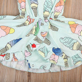 Colorful Ice Cream Dress (US Sizes 12M-4T) - PB and Apple Jelly