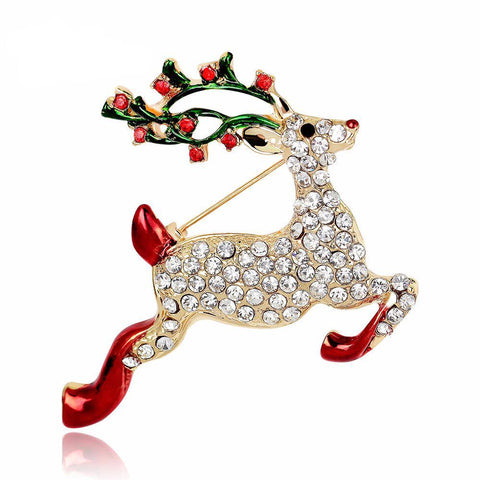 Rudolph Reindeer Brooch - PB and Apple Jelly