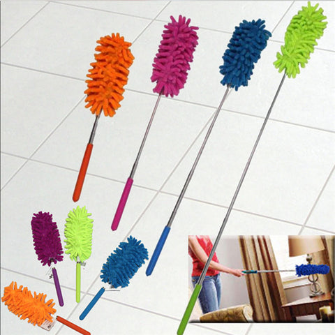 Mini Chenille Feather Duster with Retractable Handle