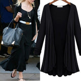 Soft, Flouncy Cardigan (US Sizes XS-3XL) - PB and Apple Jelly