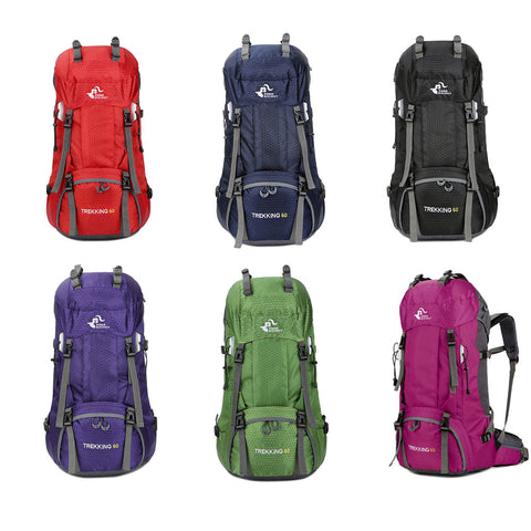 50-60L Camping/Hiking Backpacks - PB and Apple Jelly