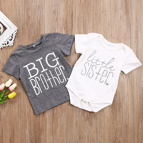 Big Brother/Little Sister T-Shirts (Sizes 0-6 month-6T)