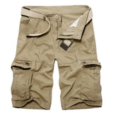 Long Military Cargo Shorts (Waist Sizes 29-40 Inches) - PB and Apple Jelly