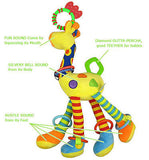Large Plush Giraffe Rattle - PB and Apple Jelly