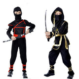 Ninja Costumes (Sizes S-XL) - PB and Apple Jelly