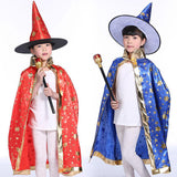 Starry Wizard/Witch Hat and Cape