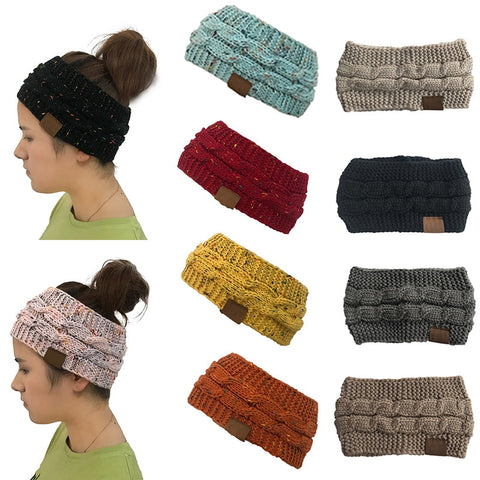 Warm Cable Knit Headbands