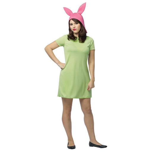 Bob's Burgers Louise Adult Green Dress Costume