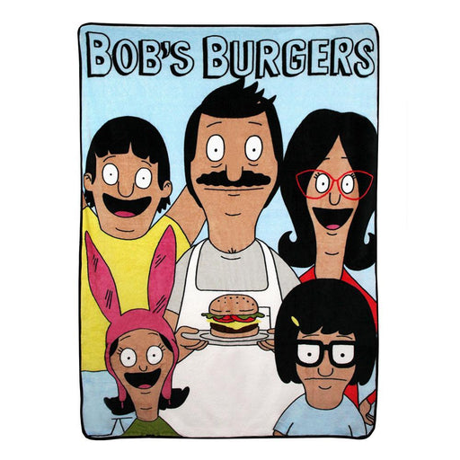Bob's Burgers Family Fleece Blanket