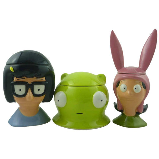 Bob's Burgers Cookie Jar Set
