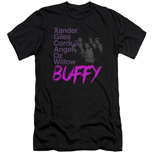 Buffy Names T-Shirt