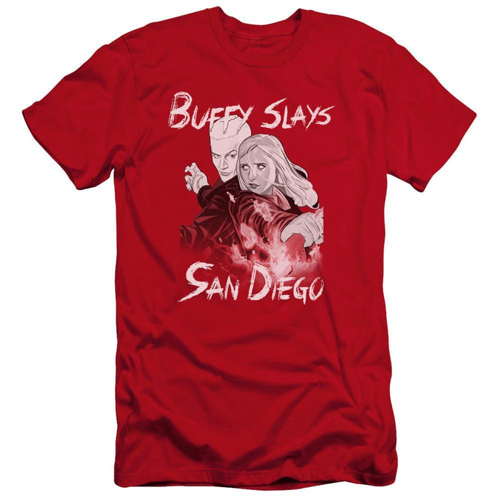 Buffy the Vampire Slayer Comic Book Red T-Shirt