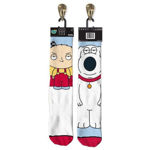 Family Guy Stewie & Brian Knit Socks