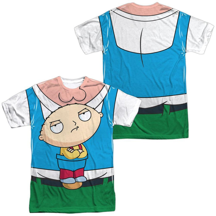 Family Guy Stewie Carrier Adult Sublimated T-Shirt