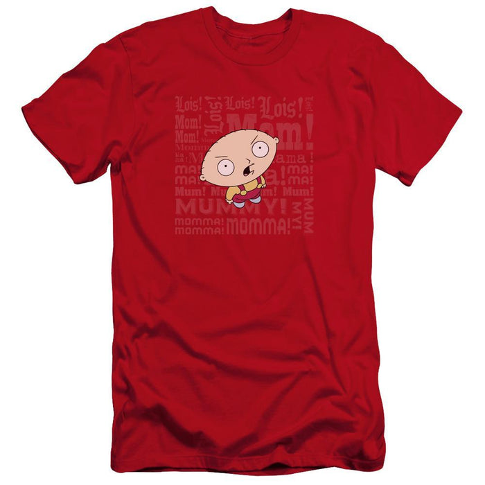 Family Guy Mom Adult Red T-shirt