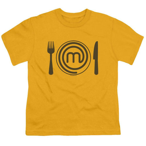MasterChef Junior Logo Gold Youth T-Shirt