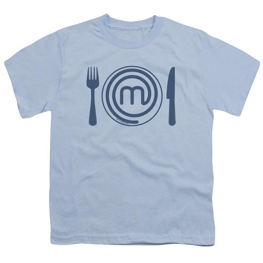MasterChef Junior Logo Light Blue Youth T-Shirt