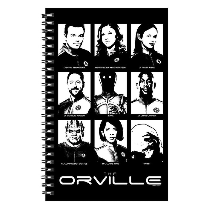 The Orville The Crew Notebook