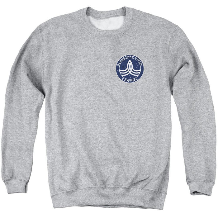 The Orville Command Badge Grey Heather Crewneck Sweatshirt