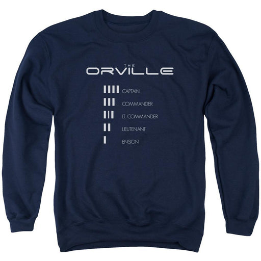 The Orville Ranking Navy Crewneck Sweatshirt