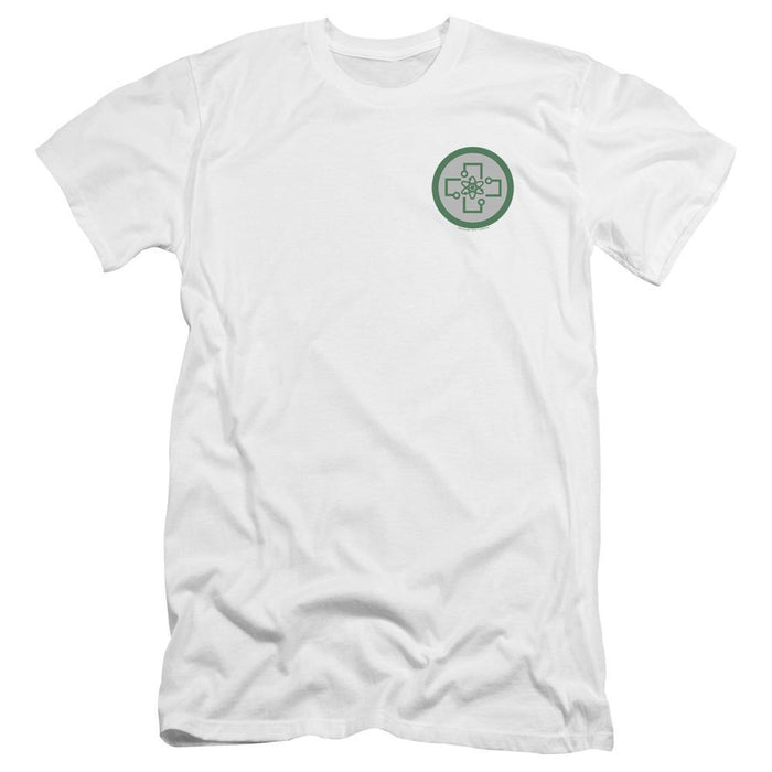 The Orville Medical Badge Left Chest Logo White T-Shirt