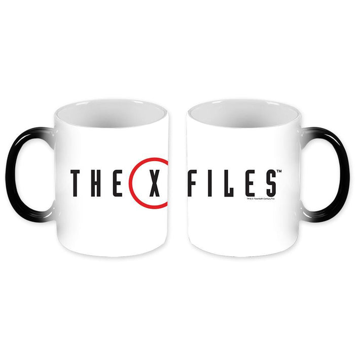 The X-Files Transforming Logo Mug