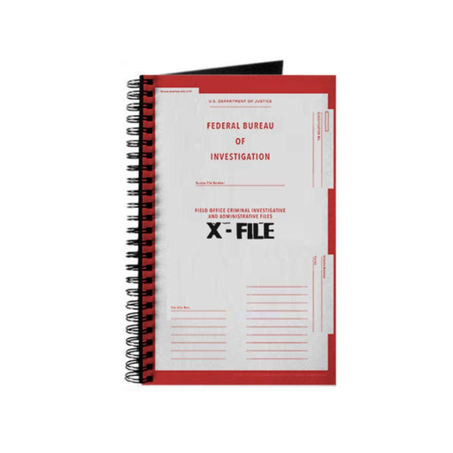 The X-Files FBI File Notebook