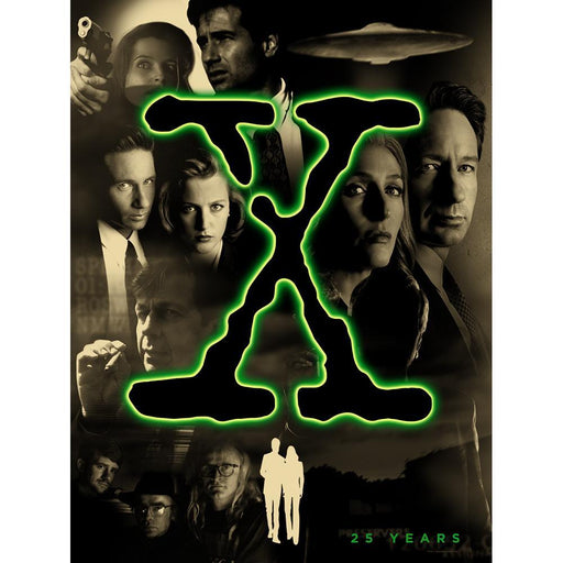 X-Files 25th Anniversary Poster