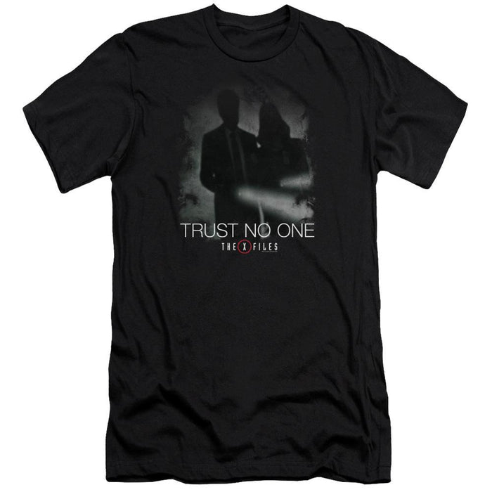 The X-Files Trust No One Silhouette Black T-shirt