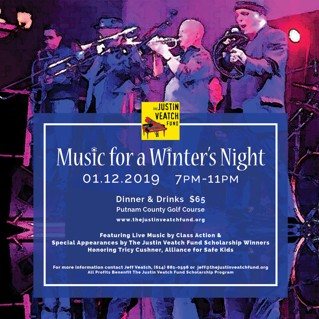 Justin Veatch Fund to hold winter fundraiser dinner/dance, Saturday, January 12th